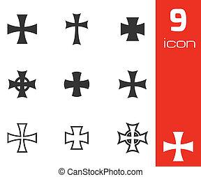 Vector choppers crosses - Vector black choppers crosses ...