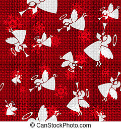 Vector Christmas Angels