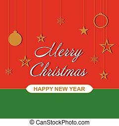 Vector Christmas background for festive design.