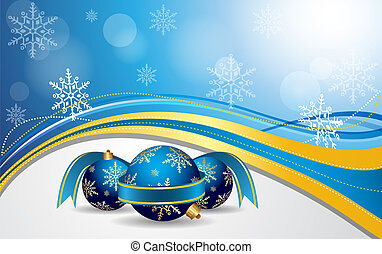 Vector Christmas Background - Vector Illustrator, be able to...