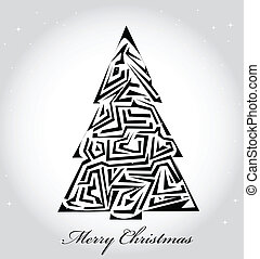 vector Christmas card