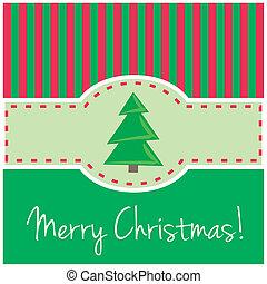 Vector Christmas card invitation