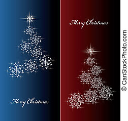 Vector Christmas cards