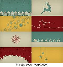 Vector Christmas Cards