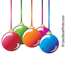 Vector. Christmas decoration: christmas ball