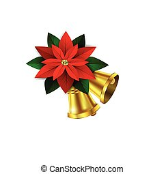 Vector Christmas decorative corner