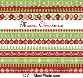 Christmas greeting card - Vector Christmas greeting card ...