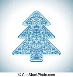Vector christmas invitation card.