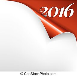 Vector Christmas New Year Card -