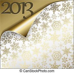 Vector Christmas New Year Card 2013 - Vector Christmas New ...