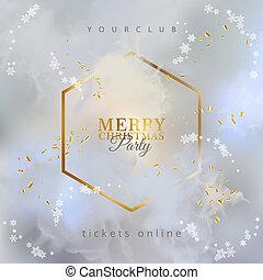 Vector Christmas Poster