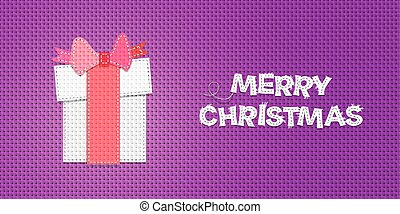 Vector Christmas Present