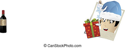 vector christmas snapshots