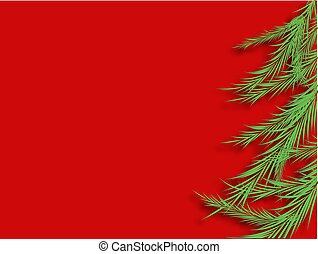 Vector christmas tree. Beautiful illustration with 2020 year for celebration design. bile