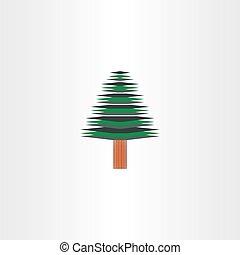 vector christmas tree design