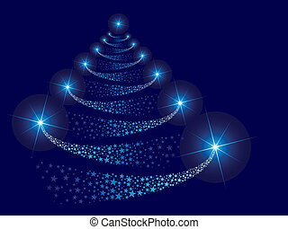 vector christmas tree