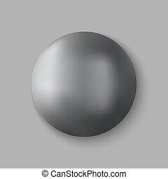 Vector chrome ball