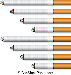 vector cigarettes - orange filter