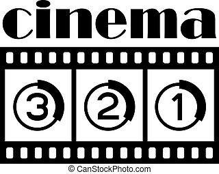 vector cinema symbol