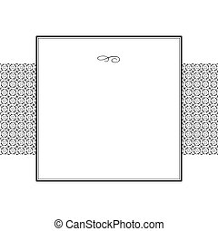 Vector Circle Pattern and Frame