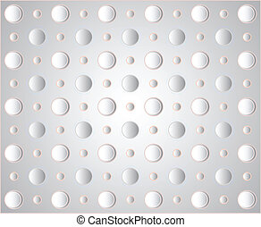 vector circles on a gray background