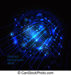 Vector Circuit Board Vector illustration for your design