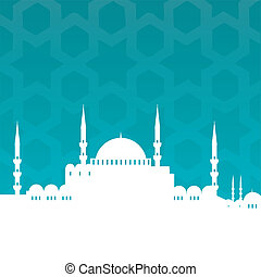 vector cityscape of istanbul
