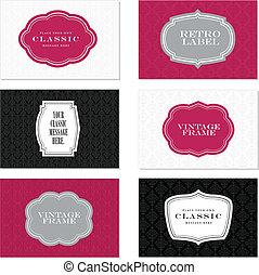 Vector Classic Label Set