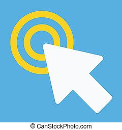 Vector Click Icon