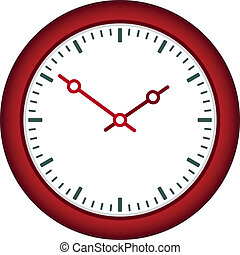 vector clock face - easy change time