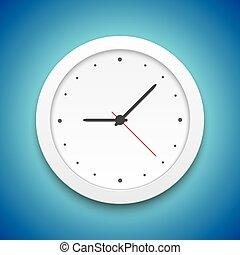Vector Clock Icon vector Illustration