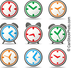 vector clock symbols