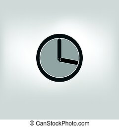 vector clock, timer icon
