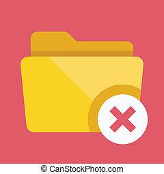 Vector Close Folder Icon