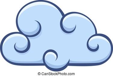 Vector cloud icon