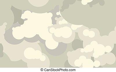 Vector cloud smoke pattern. Electronic cigarettes vape vapor...