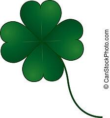 vector clover four leaf