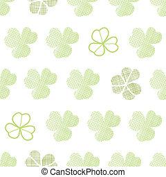 clover textile textured geometric seamless pattern...