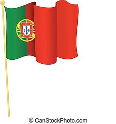 Vector coat of arms of Portugal