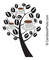coffee tree - vector coffee tree
