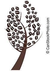 coffee tree - vector coffee tree