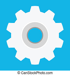 Vector Cog Icon