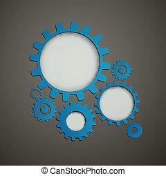 Vector Cog Wheels