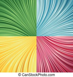 Vector collection of Abstract background