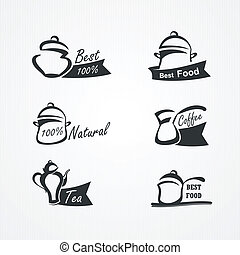 cooking symbols - vector collection of cooking symbols
