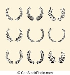 Laurel Wreaths.