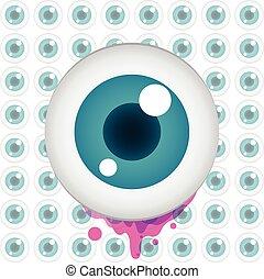 Vector color eye design