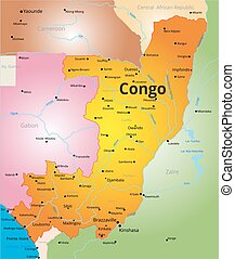 color map of Congo