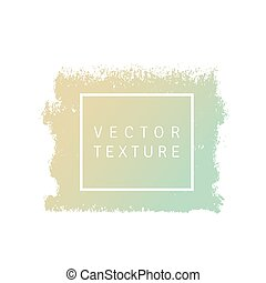 Vector color texture shape on a white background. Element for your design. Gradient shape.