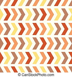 Multicor chevron arrow repeat seamless pattern. Earthy colors arrows. Endless texture for digital paper, fabric, backdrops, wrapping.